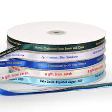 3 8 inch ribbon personalized ribbons the stationery studio