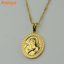 catholic necklaces gold catholic necklaces promotion shop for promotional gold
