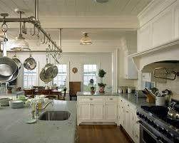 kitchen pot racks with lights pot rack hooks wooden varnish islands blue led light wooden dining