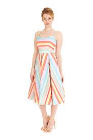 pretty dress the pretty dress company priscilla candy stripe midi dress
