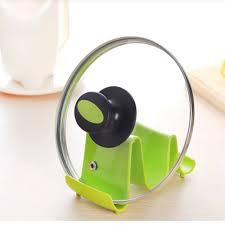 Green Kitchen Utensil Holder Kitchen Utensil Rest Spoon Rest Silicone Spoon Holder