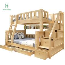Bunk Bed Photos Louis Fashion Children Bunk Bed Real Pine Wood With Ladder Stair