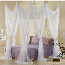 Mosquito Net Bed Canopy White Mosquito Net Bed Canopy Vine Dine King Bed Decorate
