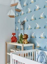Changing Table Mobile Blue Boy Nursery With Sailboat Mobile Cottage Nursery