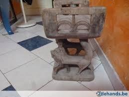 siege de style siège de style egyptien en chene te koop 2dehands be