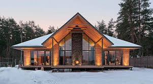 chalet style house the modern house in the chalet style ideas for design