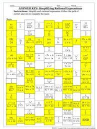 simplifying algebraic rational expressions 9th grade english