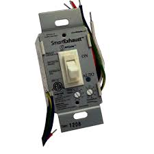 ventilation timer and light switch