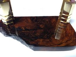 buy business card holder buy a crafted cocobolo burl wood handmade business