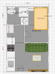 tiny house plan under 300 sq ft free tiny house floor plan
