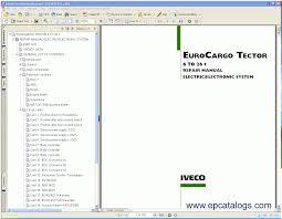 iveco eurocargo tector 12 to 26 t repair manual pdf repair manual