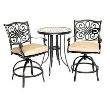 Bar Height Patio Furniture by Patio Bistro Table Patio Furniture Bistro Sets Bar Height Patio