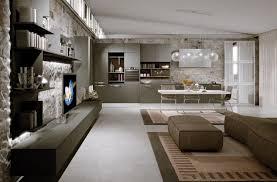salon et cuisine moderne stunning cuisine et salon moderne ideas design trends 2017