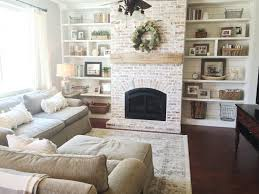 how to whitewash brick fireplace binhminh decoration
