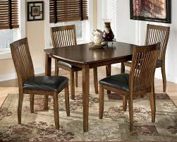 set of 4 dining room chairs amazon com ashley d293 225 stuman rectangle dining room table