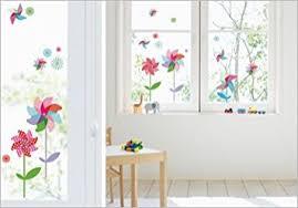 stickers fenetre cuisine stickers electrostatiques fille pour vitres fenetres moulins a