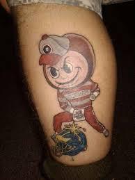 Ohio State Tattoos - the 15 worst ohio state buckeyes tattoos on the ohio