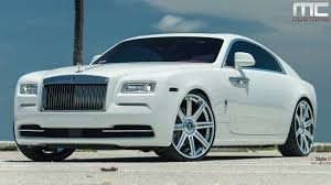 roll royce wraith 2015 mc customs rolls royce wraith vellano wheels youtube