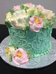 White Flower Cake Shoppe - ombre ruffle buttercream cake from the white flower cake shoppe