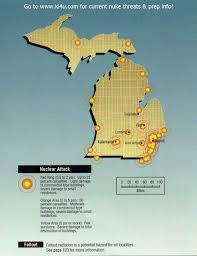Maps Of Macomb County Michigan And Locals And Locations by Nuclear War Fallout Shelter Survival Info For Michigan With Fema