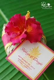 dk designs destination hawaii wedding favors favours