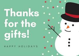christmas thank you cards free christmas thank you notes quotes cards printable