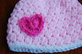 baby girl crochet free girl s crochet hat pattern with heart