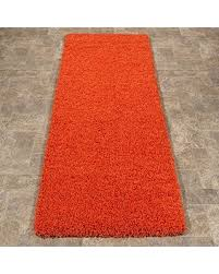 Shaggy Runner Rug Spectacular Deal On Ottomanson Soft Cozy Color Solid Shag Runner