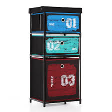 compare prices on clothing storage cabinet online shopping buy ikayaa us uk fr stock wardrobe organizer closet storge box 3 drawer home storage cabinet