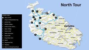Malta World Map Malta Tour Guide
