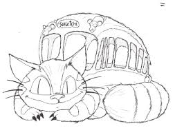 totoro coloring pages studio ghibli coloring pages sketch coloring