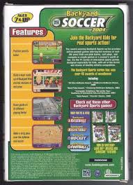 backyard soccer 2004 windows mac 2003 ebay