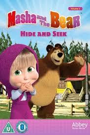 masha bear hide seek dvd hmv store