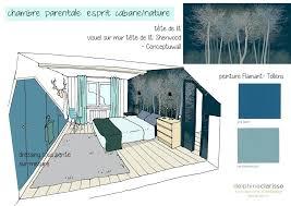 chambre parentale 12m2 amacnagement dune chambre parentale esprit cabane nature projet