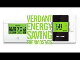 verdant thermostats youtube
