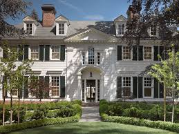 colonial home grand colonial style home exterior with white paneling column