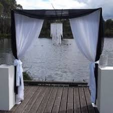 Wedding Arches Melbourne Hanging Ribbon Wedding Backdrop Wedding Arches Pinterest