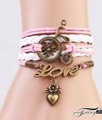 leather charm bracelet ebay images New infinity love heart car friendship antique copper leather jpg