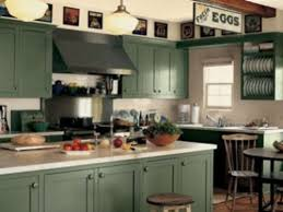 repainting kitchen cabinets ideas painted kitchen cabinets green color simple yet brilliant
