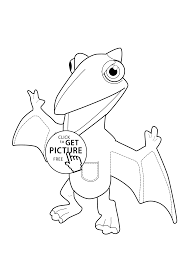 dinosaur coloring kids printable free dragon dinosaur