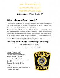 uwm police department building relationships protecting community
