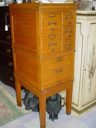 Oak Filing Cabinet 3 Drawer Vintage Oak File Cabinet With 3 Small Drawer 2 Medium Drawer And 1