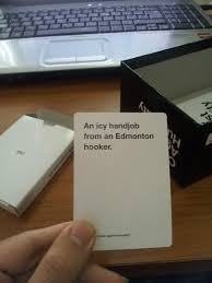 so my copy of cards against humanity came with special canadian