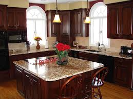 Best Kitchens With Black Appliances Images On Pinterest - Cherry cabinet kitchen designs
