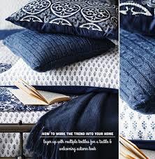 Indigo Home Decor Decorating With Indigo Blue Sainsbury U0027s A W14 Bright Bazaar By