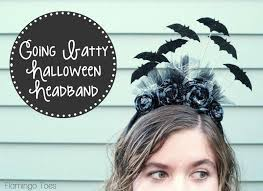 going batty halloween headband