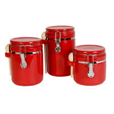 100 red canister sets kitchen the pioneer woman country