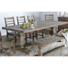 Farmhouse Dining Table With Leaf Farmhouse Dining Tables Birch