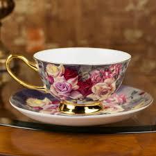 fancy coffee cups free shipping european english style fashion bone china coffee
