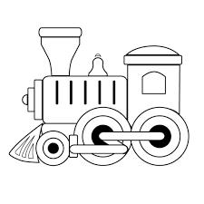 toy train clipart black and white clipartxtras